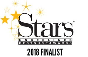 Stars underlines Best Shop Awards